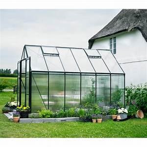 Serre De Jardin Polycarbonate : serre de jardin 9 9m verte en polycarbonate 6mm magnum halls ~ Dailycaller-alerts.com Idées de Décoration
