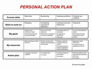 personal action plan With individual student action plan template