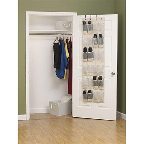 door shoe organizer household essentials 174 cedarline collection the door