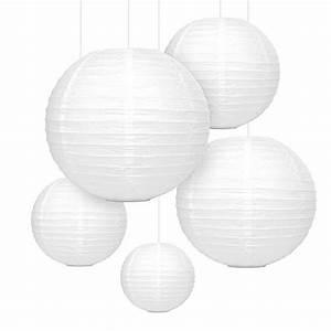 Laterne Groß Für Draußen : mozooson 12x laterne papier wei falt lampions gro und klein f r drau en und innen deko ~ Yasmunasinghe.com Haus und Dekorationen