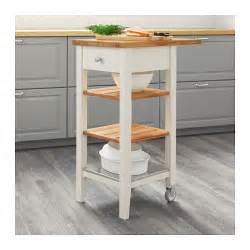 kitchen islands and trolleys stenstorp kitchen trolley white oak 45x43x90 cm ikea