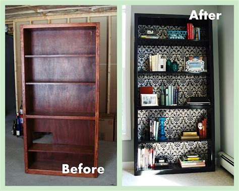 revamp  bookcase  heart maine home office