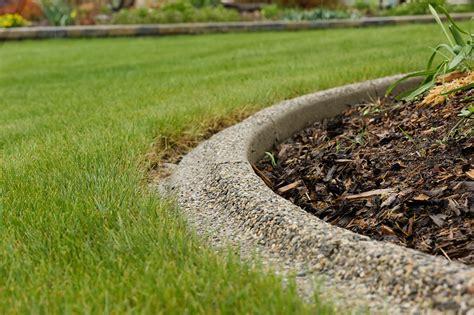 concrete landscape edging image of concrete landscape edging ideas for the home pinterest flagstone edging ideas