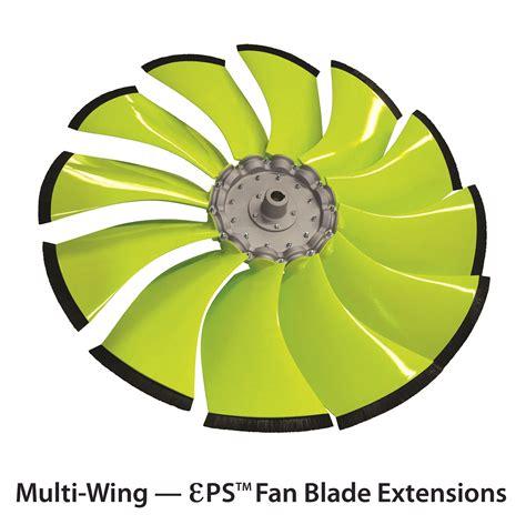 multi wing fan blades multi wing introduces ɛps fan blade extensions power