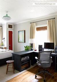 bedroom office ideas 17 Best images about ROOM: Home Office on Pinterest   Home ...