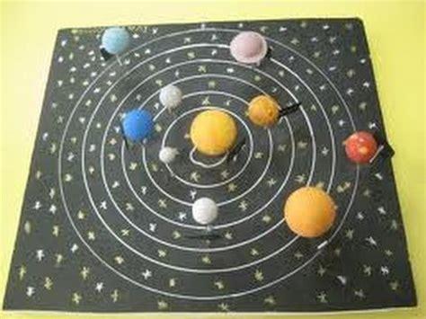 como hacer una maqueta del sistema solar 7 youtube
