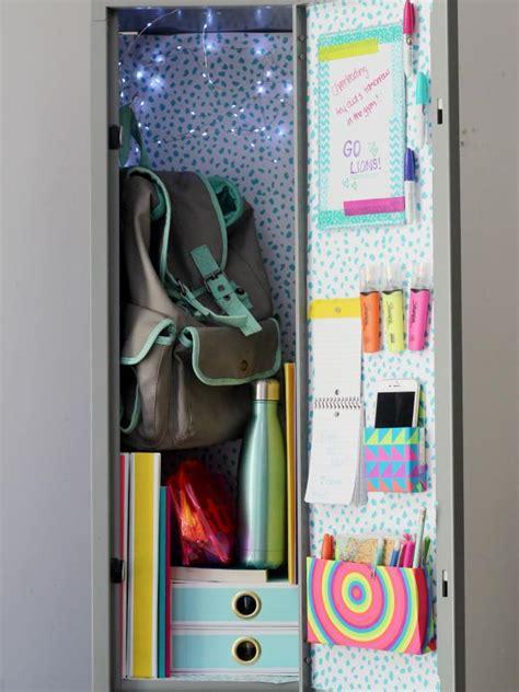Home Design Ideas Handmade by 22 Diy Locker Decorating Ideas Hgtv