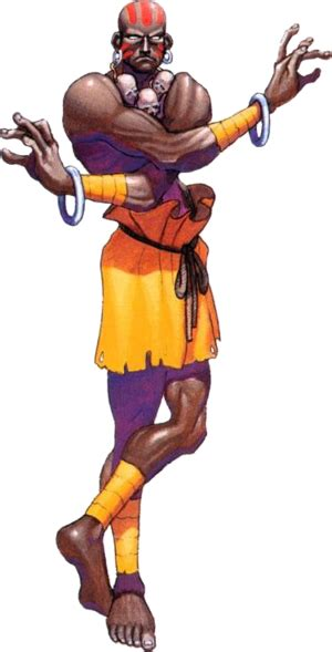 True Humor Dhalsim From Street Fighter Having Fun In His