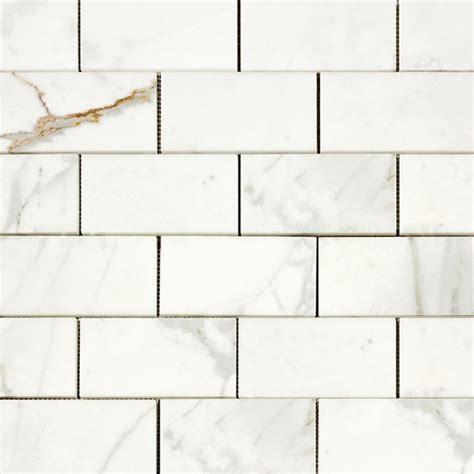 calacatta gold  italian marble honed subway tile