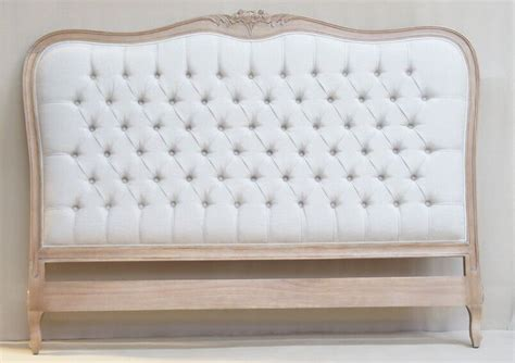 Shabby Chic Metal Headboard by Louis French Upholstered Headboard Crown French Furniture