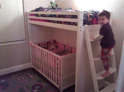 Best 25+ Bunk Bed Crib Ideas On Pinterest