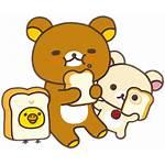 Rilakkuma Korilakkuma Kiiroitori Sticker Bakery Transparent Warm