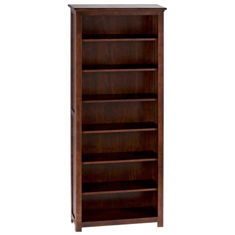 Bookcases Canada by Shaker Bookcase Home Envy Furnishings Solid Wood