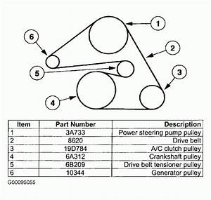 2005 Jeep Grand Cherokee Serpentine Belt Diagram