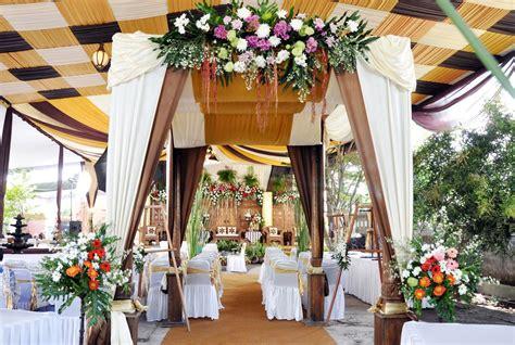 gambar dekorasi pernikahan luar ruangan   planner