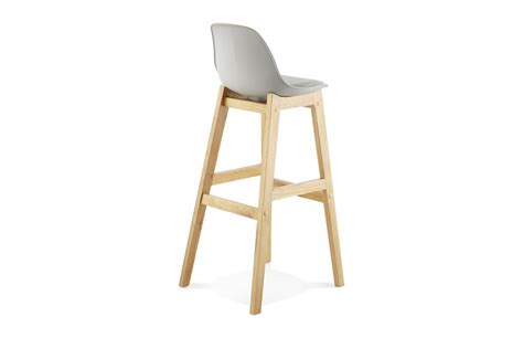 tabouret de cuisine en bois chaise bar pied bois cuisine en image