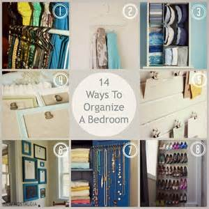 Organization For Bedroom by 14 Ways To Organize A Bedroom