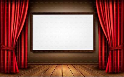 Curtain Screen Background Powerpoint Cinema Wallpapersafari Call