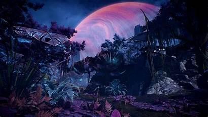 4k Andromeda Planet Forest Havarl