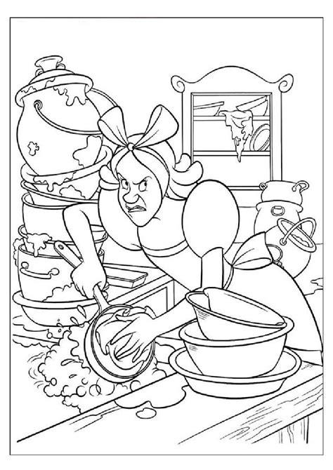 disney cartoons coloring pages part