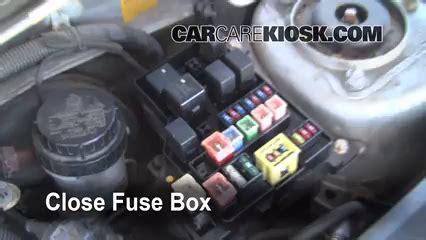 Volvo S40 Cabin Fuse Box by Replace A Fuse 2000 2004 Volvo S40 2000 Volvo S40 1 9l
