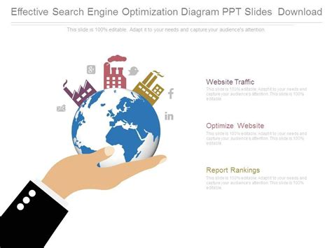 Effective Search Engine Optimization by Effective Search Engine Optimization Diagram Ppt Slides