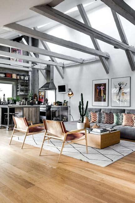 beautiful loft design celebrating bright home interiors  scandinavian style