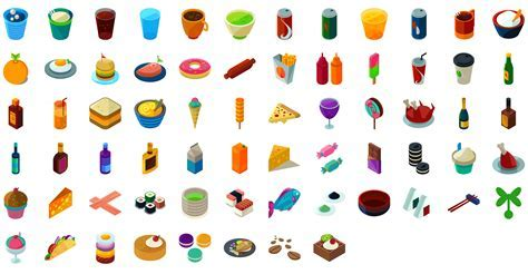 Isometric Icons Pack   1000 vector icons download