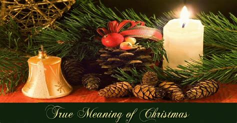 true meaning  christmas