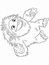 Yeti Everest Colouring Pages Coloringpage Coloring Abominable Colour Check Category sketch template