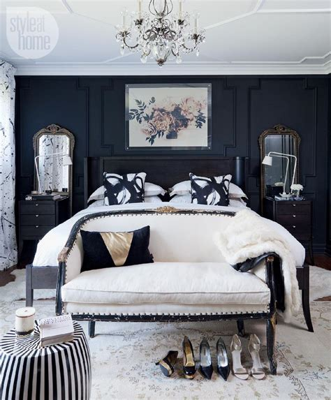 black and white master bedroom decorating ideas house