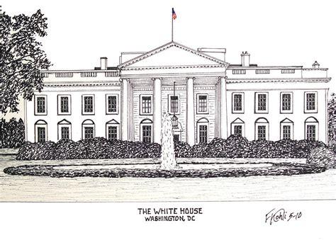 white house drawing  frederic kohli