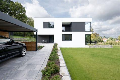 Moderne Häuser Mit Grossen Fenstern by Moderner Neubau Mit Gro 223 En Fenstern Modern H 228 User