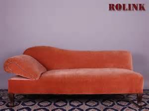 ottomane sofa ottomane wohnzimmer sofa liegesofa recamiere links in rot