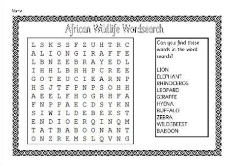 eyfs ksks sen ipc africa animals holidays topic