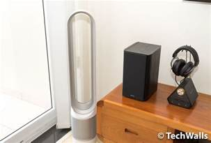 Bladeless Desk Fan With Remote by Dyson Pure Cool Link Air Purifier Review How The Most