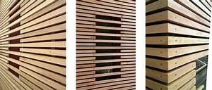 usinage de panneau facade pour le batiment With type de bardage bois exterieur