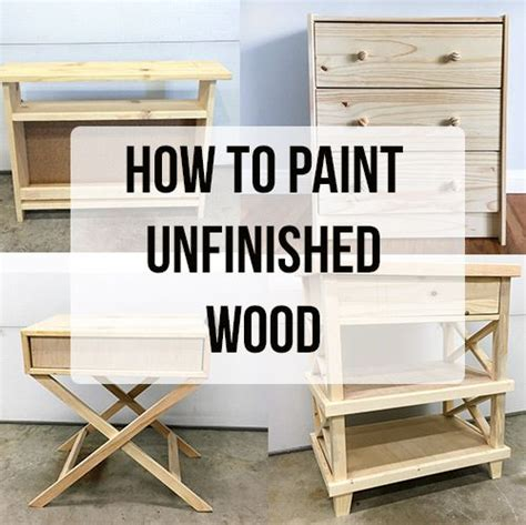how to paint unfinished pine furniture awesome