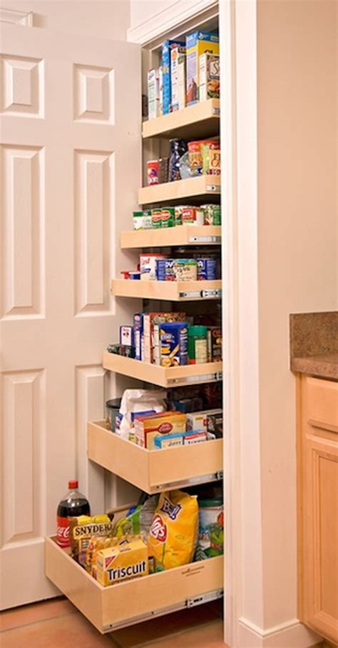 pull out pantry shelves creative pantry organizing ideas and solutions