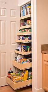 Creative pantry organizing ideas and solutions for Pantry roll out shelf