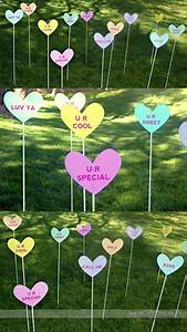 Outdoor, Decorating, Ideas, With, Hearts, For, This, Valentines