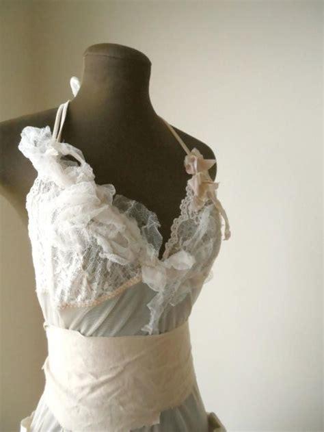 shabby chic wedding gown faerie wedding dress tattered chic shabby bride woodland rustic wedding dress ideas