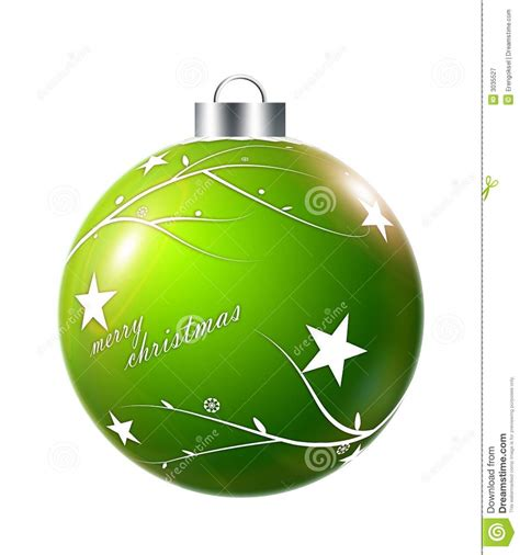 Green Christmas Ornaments Balls  Happy Holidays