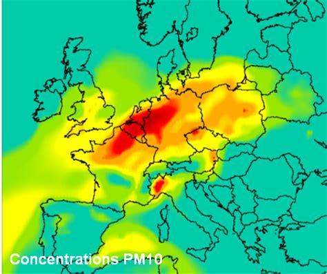 Carte Pollution Europe by Pollution De L Air Nos Voisins Europ 233 Ens Nous 233 Touffent