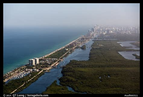 Picture/Photo: Aerial view of Fort Lauderdale Coast ...