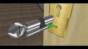 Changer Un Barillet De Porte : changer un cylindre de serrure de porte youtube ~ Medecine-chirurgie-esthetiques.com Avis de Voitures