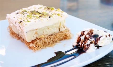 If you can't wait until you get the chance to go to greece and try. Greek Ekmek Kataifi recipe (Custard and whipped cream pastry with syrup) - My Greek Dish