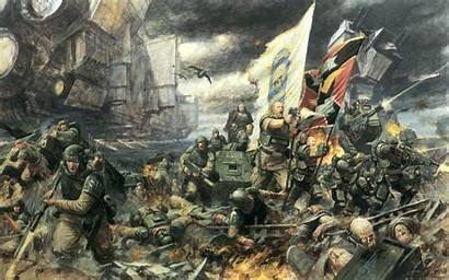 40k Imperial Warhammer Guard Desktop Pc Most