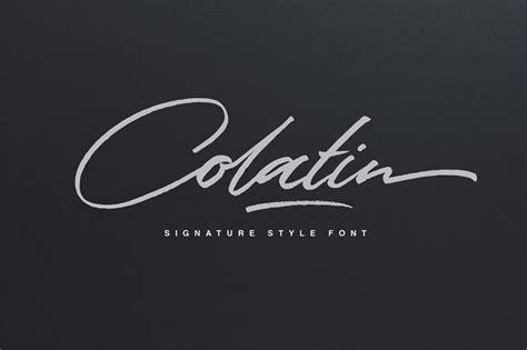 signature font examples pick   autograph font