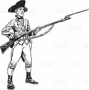 Revolutionary War Soldier Stock Vector Art & More Images ...